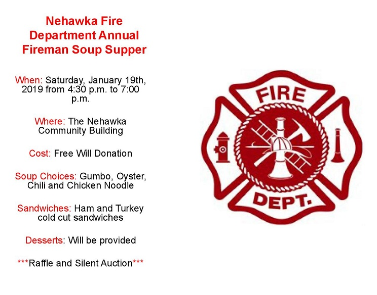 Nehawka Soup Supper Flier