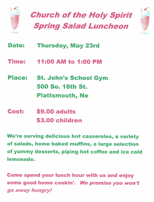 PL Spring Luncheon