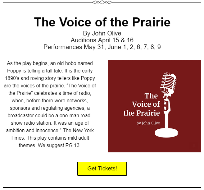 Lofte voice of the prairie
