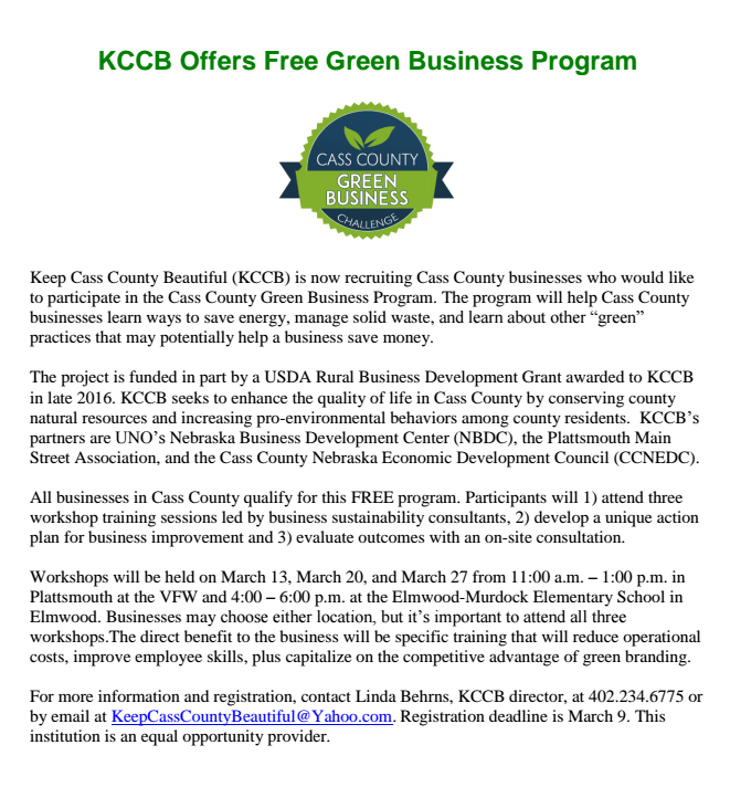 KCCBgreen business