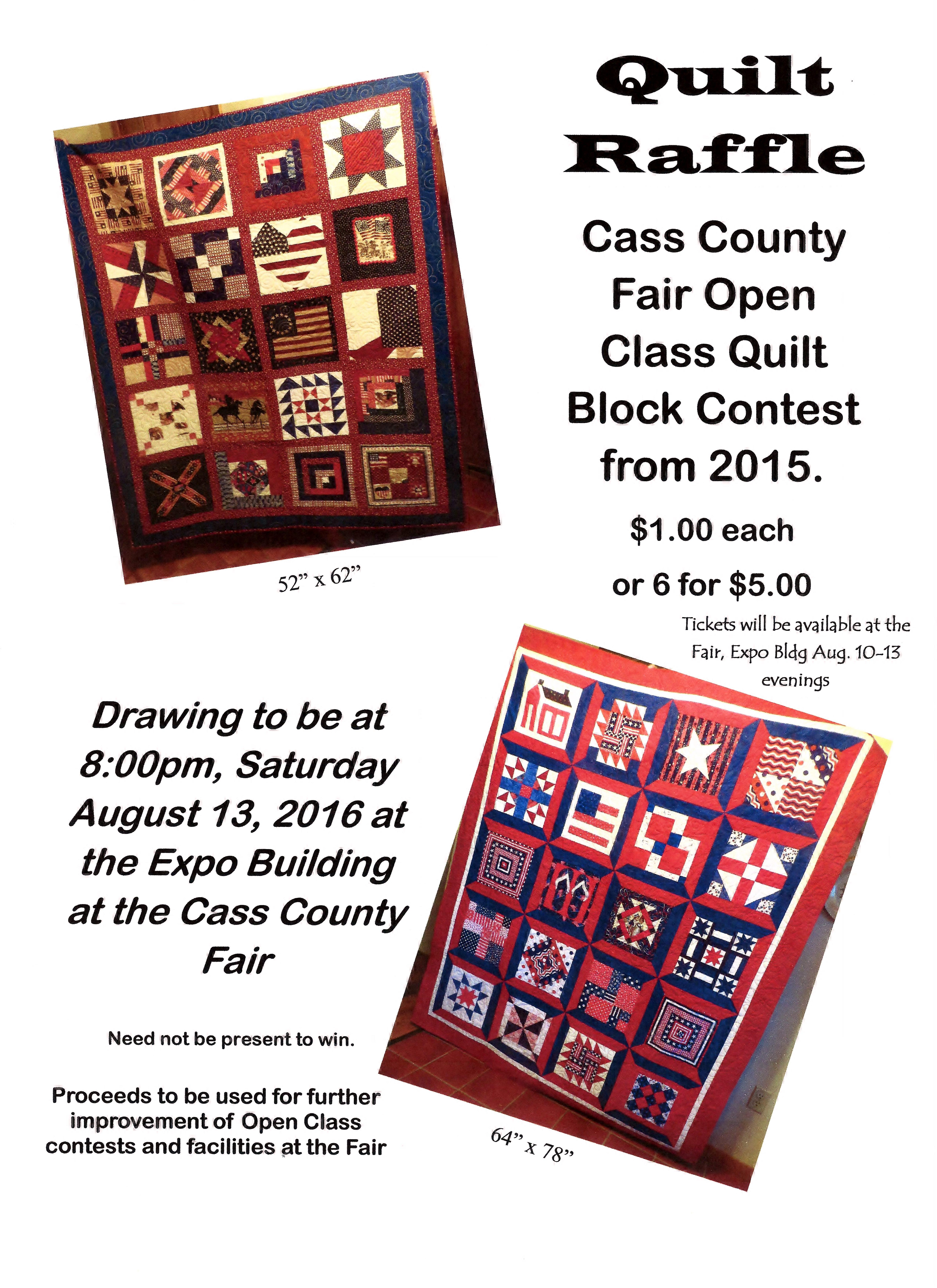 Quilt Raffle Poster 001