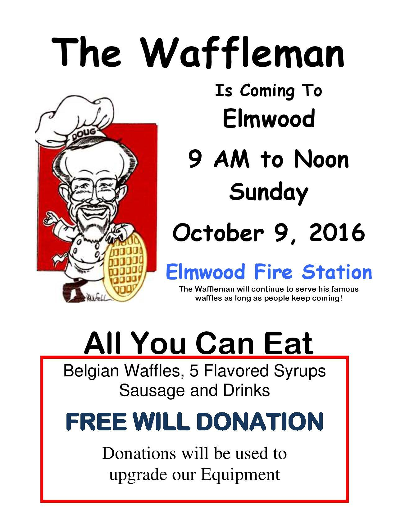 The Waffleman Flyer 2016