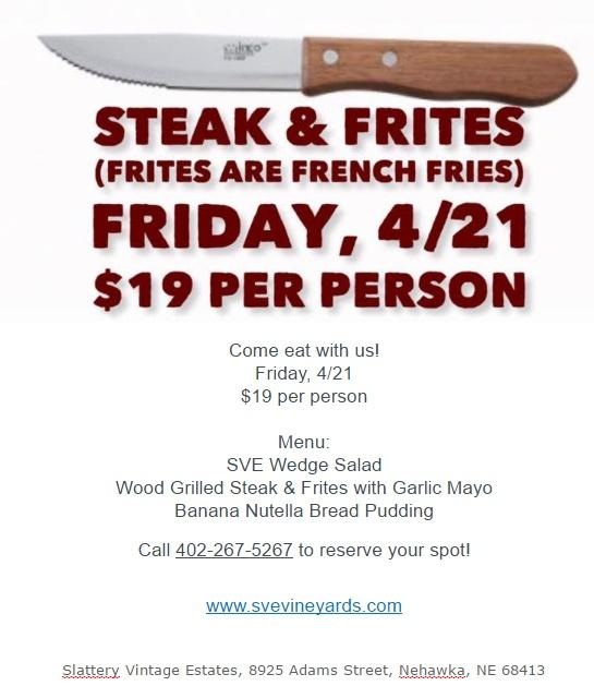 SVE Steak Frites
