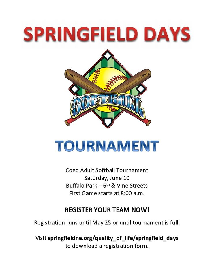 Springfield SoftBall Tournament 2017 1