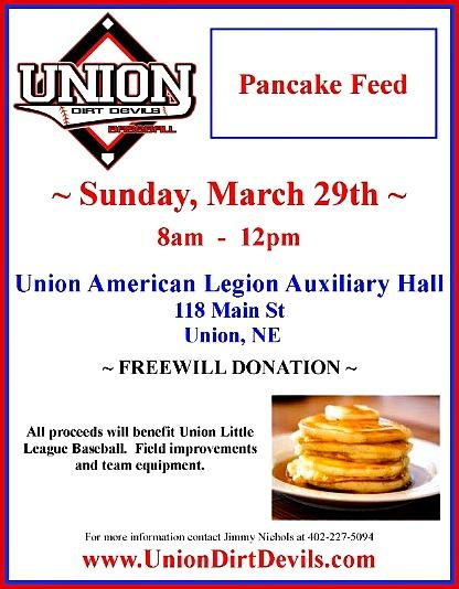 2015 UNION_Baseball_PancakeFeed