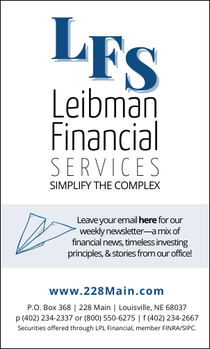 VERTICAL Leibman Financial ad for community pages border